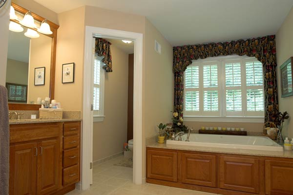 The Chadwick Model Home Bathroom