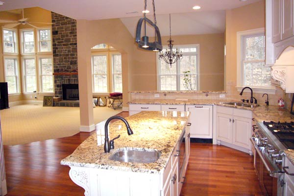 The Chadwick Model Home Kitchen