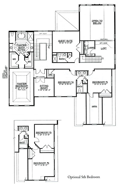 Chadwick Second Floor Plan