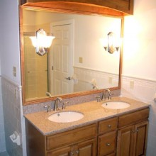Bathroom by Monument Homes