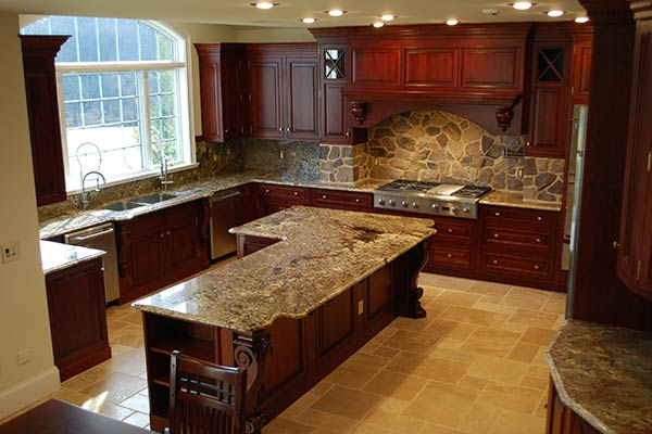 Custom Kitchen by Monument Homes