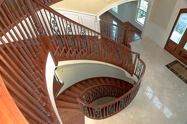 Trim Details in a Monument Homes House