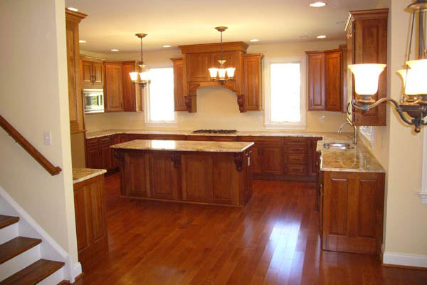 Birmingham Model Home Kitchen