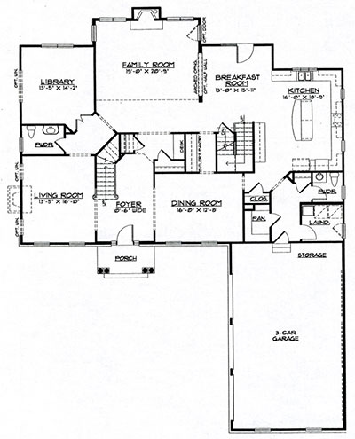 Birmingham First Floor Plan