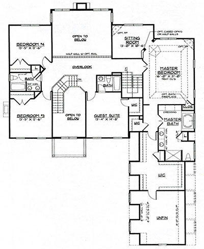 Birmingham Second Floor Plan