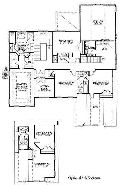 Chadwick Second Floor Plan