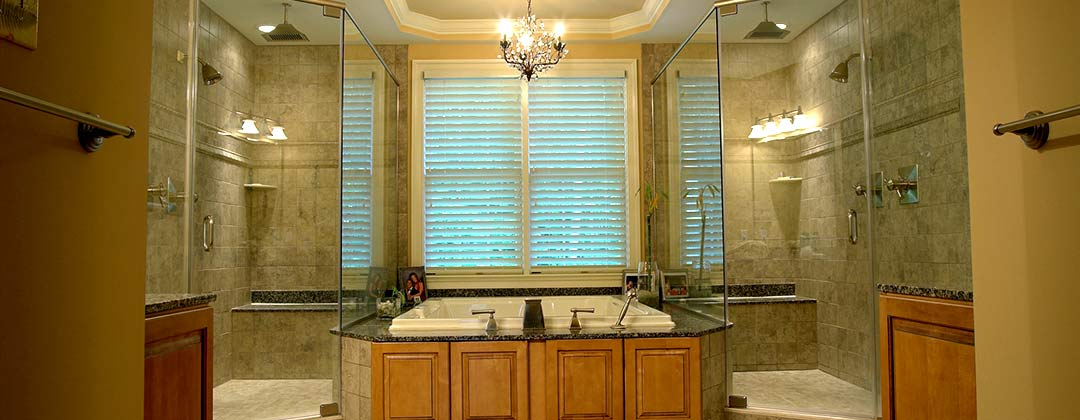 Custom Bathroom by Monument Homes