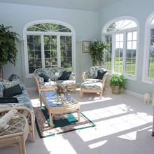 Custom home interior