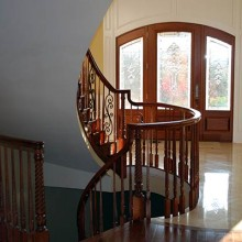 Custom foyer and staircase